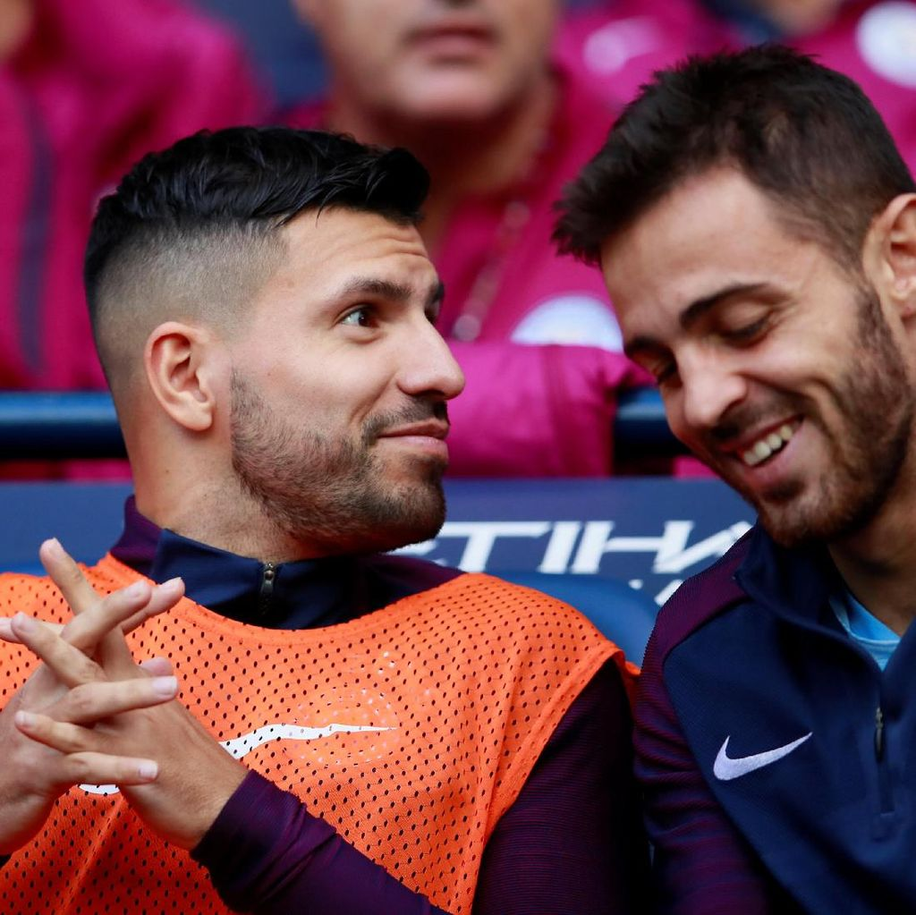 Aguero Siap Main Lawan Burnley