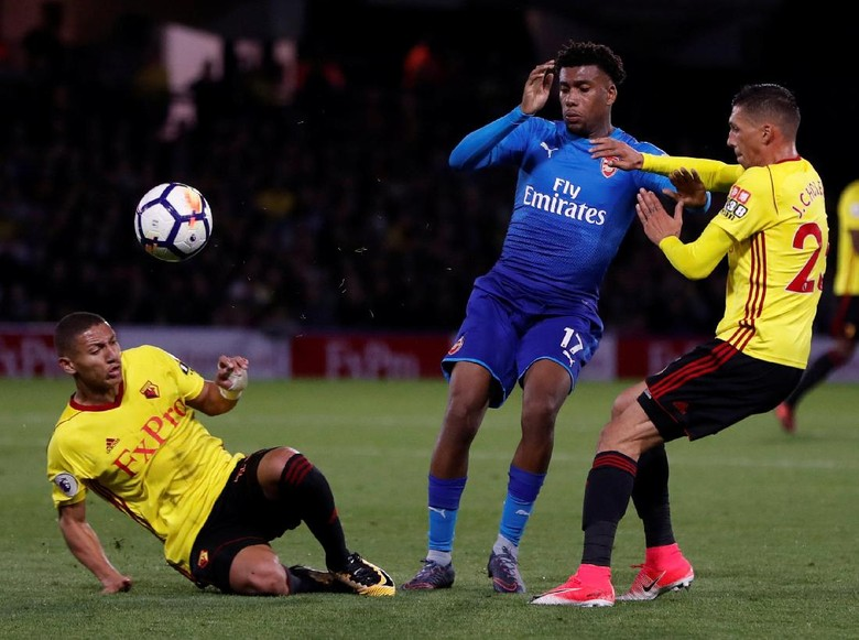 Arsenal Kalah 1-2 dari Watford Akibat Gol di Menit-Menit Akhir