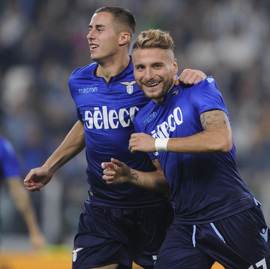Lazio Akhiri Catatan Tak Terkalahkan Juventus di Turin