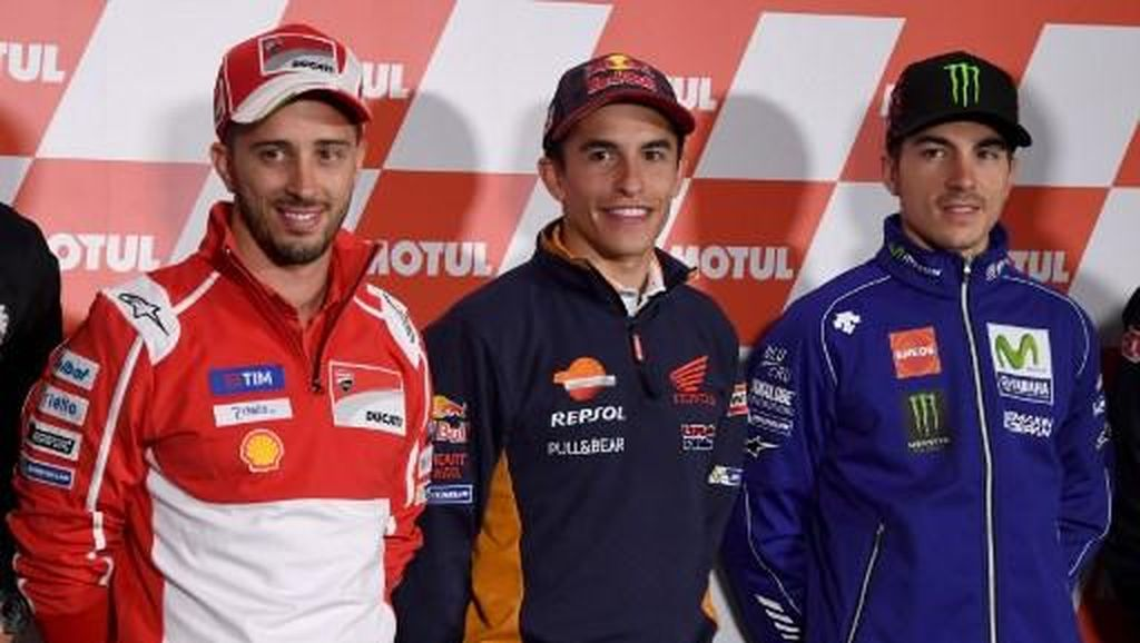 Foto: Para Pemburu Podium dan Pengejar Takhta Juara MotoGP 2018