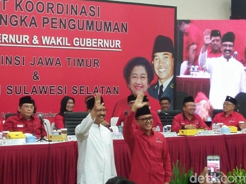 Foto: Gus Ipul-Anas, Pasangan Merah Putih Pilihan Megawati