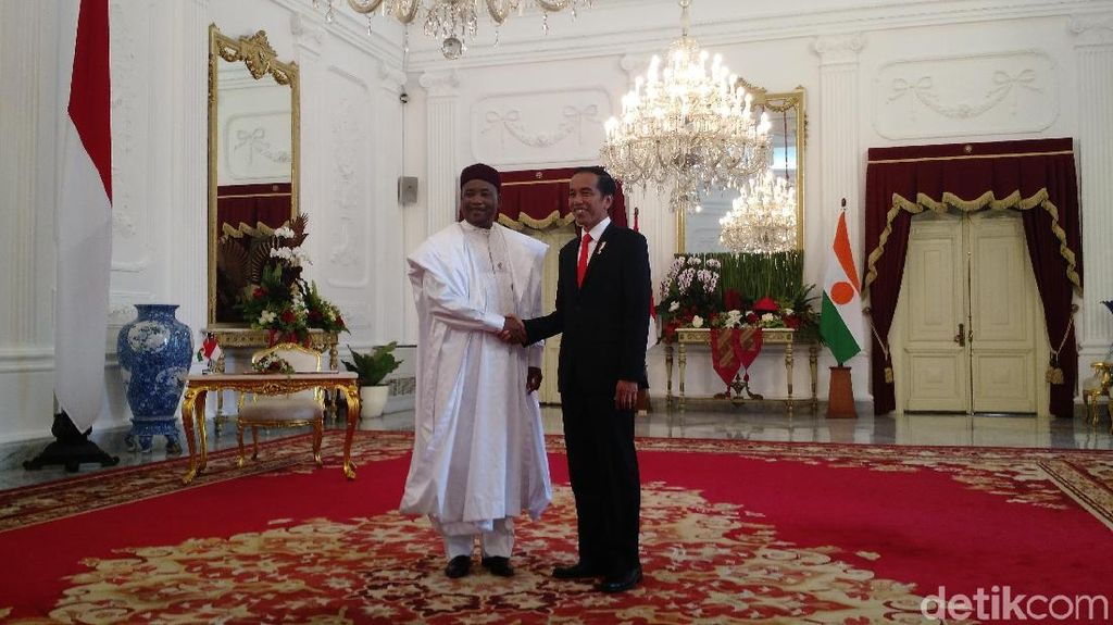 Serang Boko Haram, Presiden Niger Minta Dukungan Jokowi