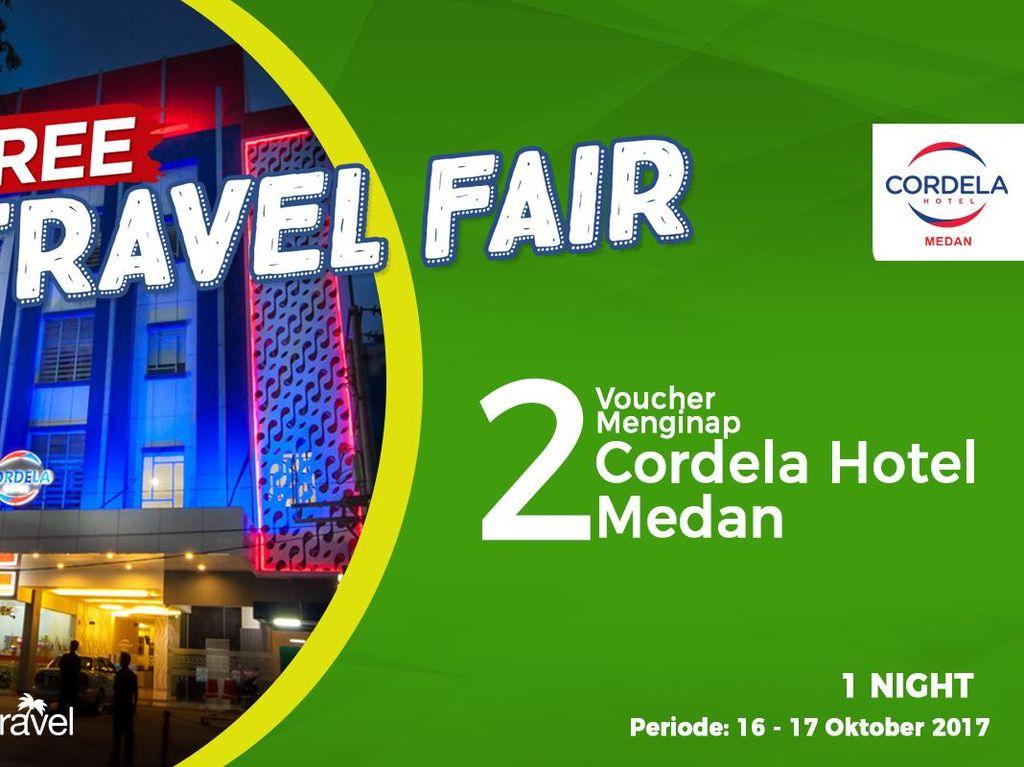 #FreeTravelFair : Gratis Bermalam di Cordela Hotel Medan