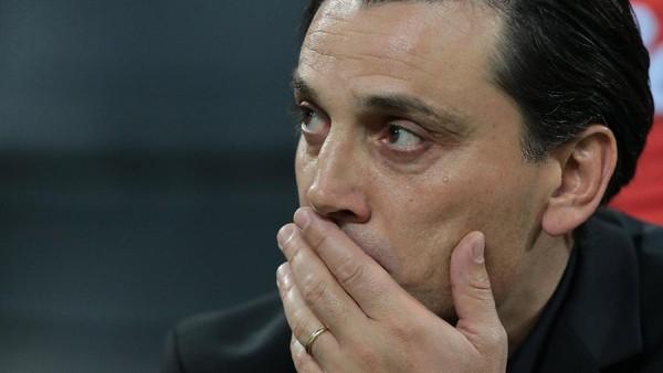 Milan Telan Kekalahan Keempat, Montella Tetap Didukung