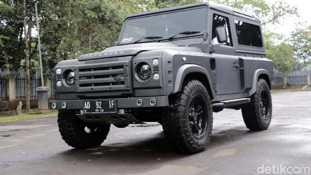 Dimodifikasi, Land Rover Defender Kian Gagah