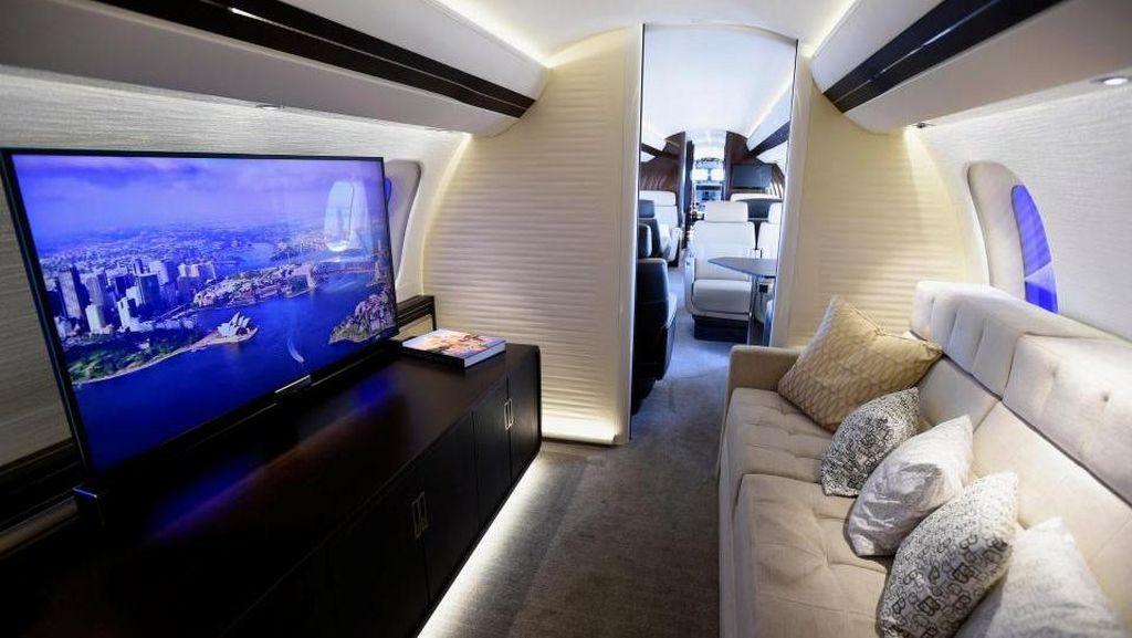 Foto: Jeroan Jet Pribadi Seharga Hampir Rp 1 Triliun