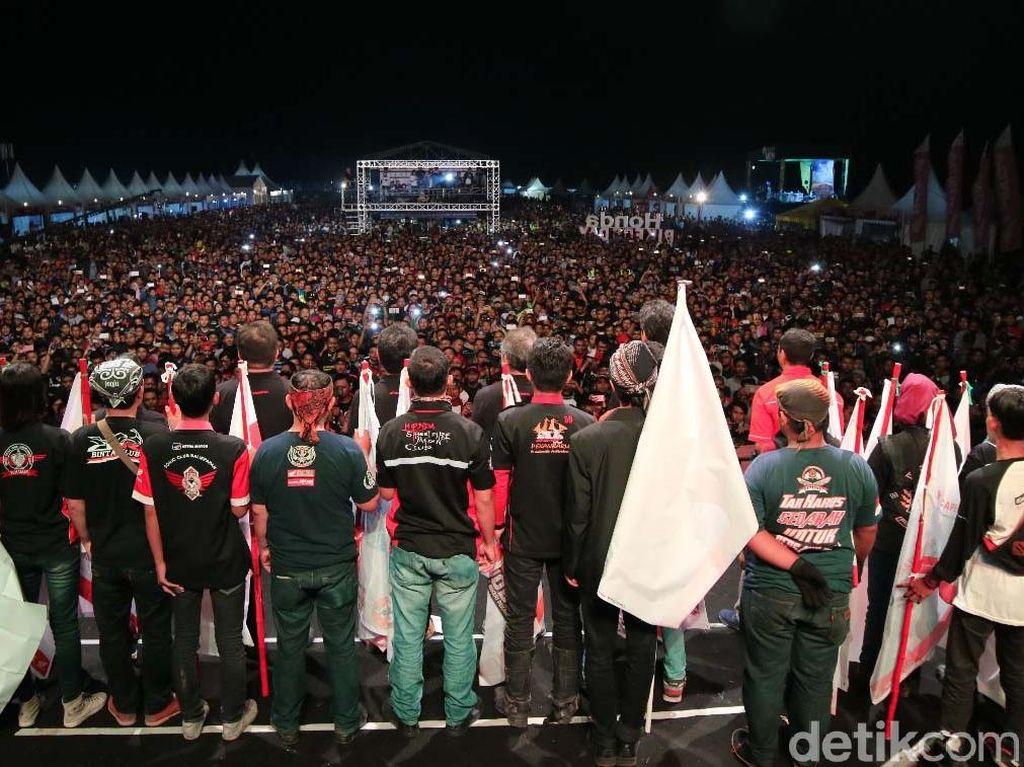 Keseruan Honda Bikers Day di Yogyakarta