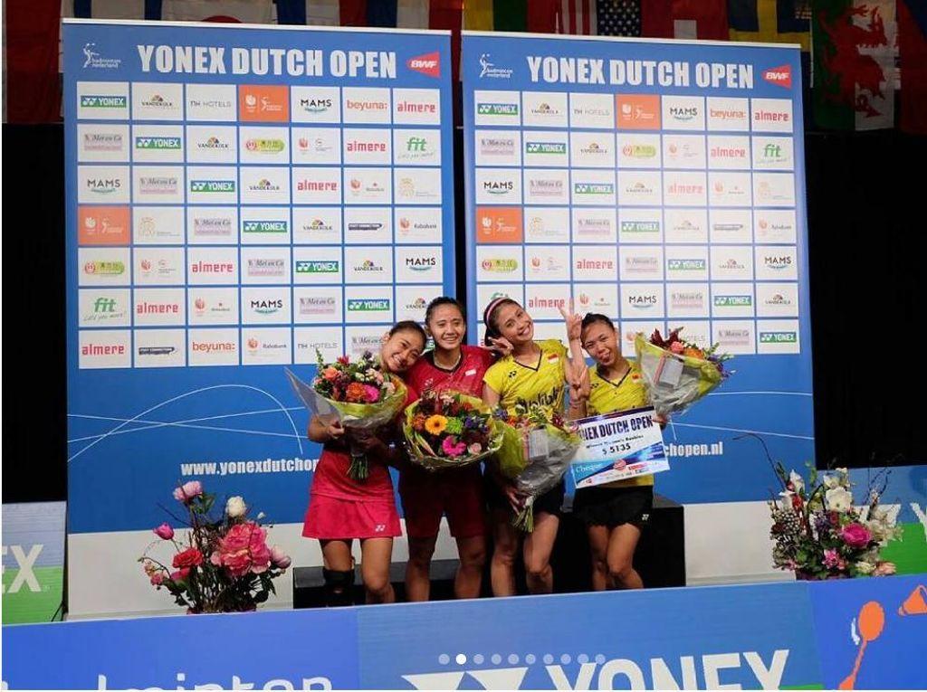 Rizki/Della Juara di Belanda