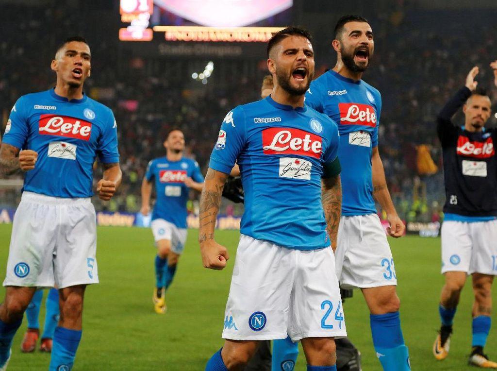 Lawan City, Presiden Napoli Minta Pemain Bintang Diistirahatkan