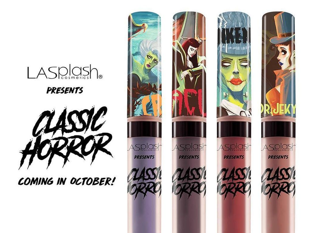 LA Splash Rilis Lipstik Bertema Horror, Beneran Seram?