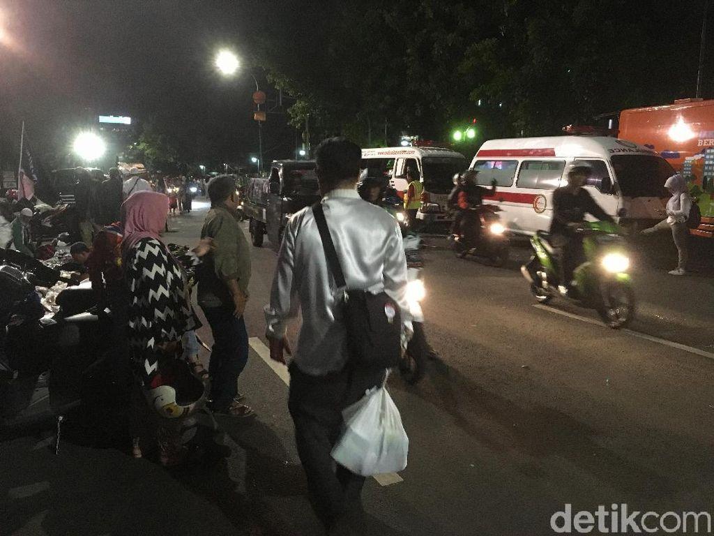 Anies-Sandi Pulang, Jalan Depan Balai Kota Dibuka Lagi