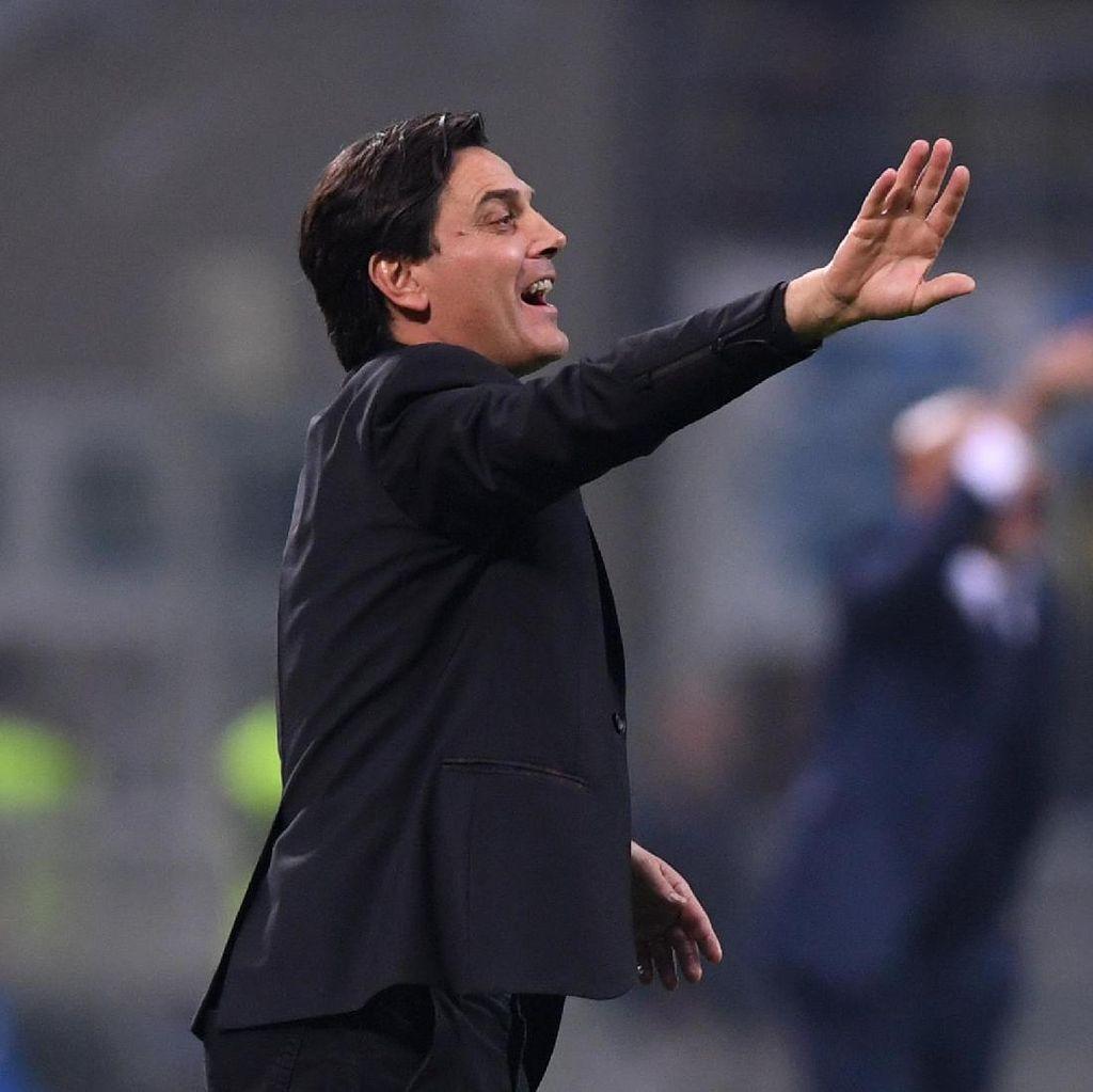 Ada Kebanggaan Montella di Balik Kekalahan Milan