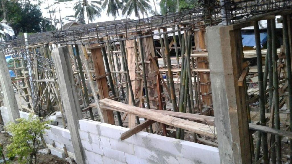 Penampakan Terkini Bangunan yang Bikin Bupati Lebak Ngamuk