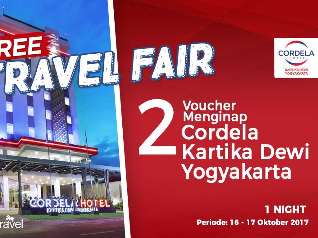 #FreeTravelFair : Gratis Bermalam di Cordela Kartika Dewi Yogyakarta