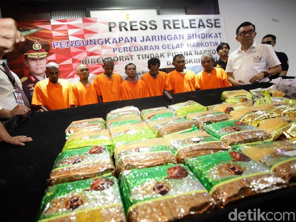 Bea Cukai dan Polisi Gagalkan Penyelundupan Sabu 30 Kg