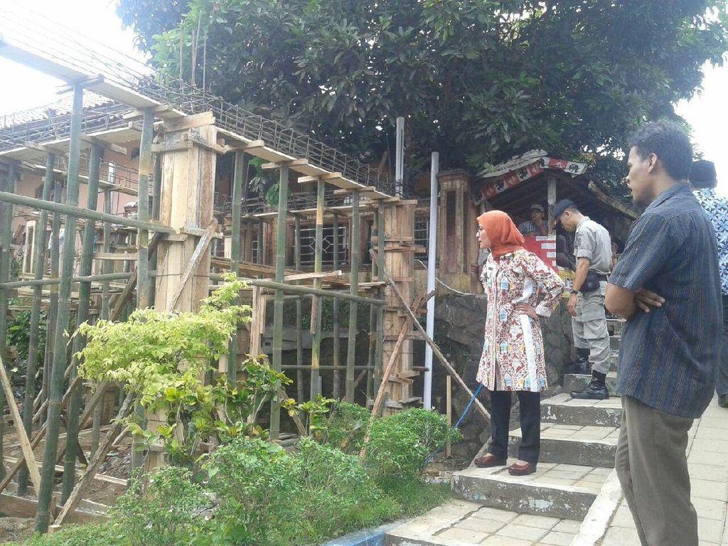 Ini Bangunan Liar yang Bikin Bupati Lebak Ngamuk Pakai Bahasa Sunda