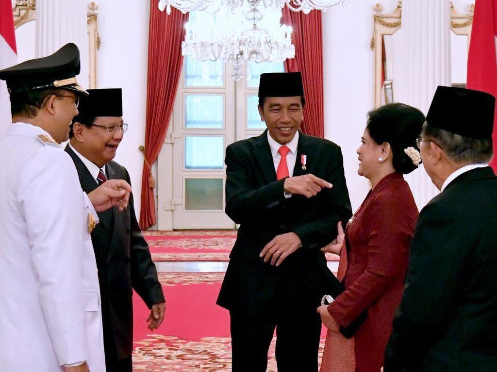 Top 3 Capres Survei Litbang Kompas: Jokowi, Prabowo, Anies