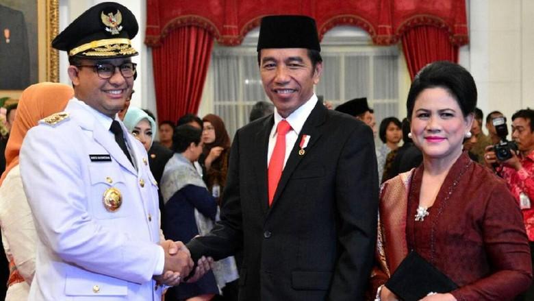 Membandingkan Pidato Jokowi dan Anies Usai Jadi Gubernur DKI