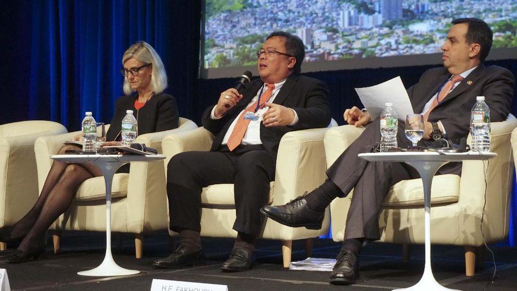 Diskusi Pengentasan Kemiskinan di Bank Dunia