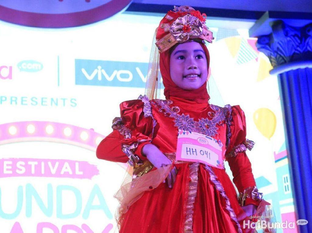 Parade Gaya Peserta Hijab Hunt Kids