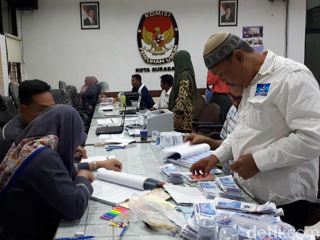 Jumlah DPT Pileg dan Pilpres 2019 di Surabaya Susut 3.840 Pemilih