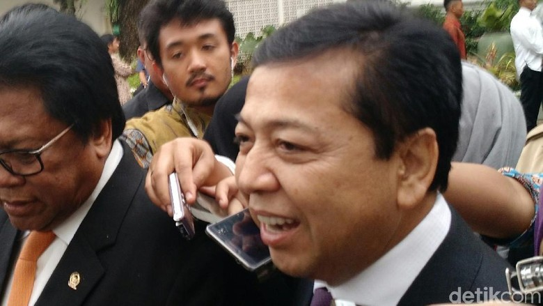 Pengacara: Setya Novanto Kecelakaan dalam Perjalanan Menuju KPK
