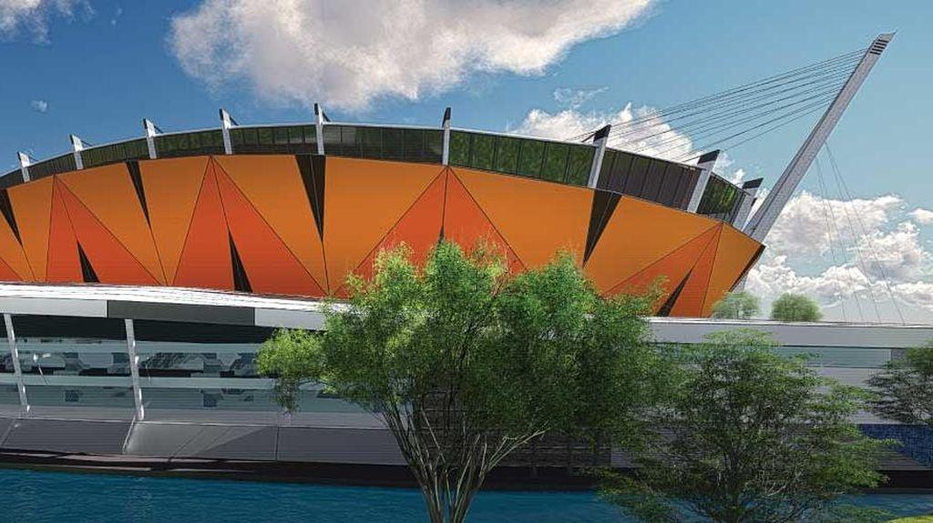 Ini Rancangan Stadion Sekelas Old Trafford dari Anies-Sandi untuk Persija