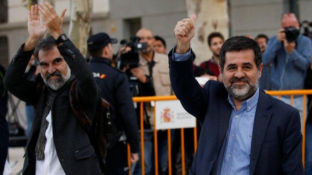 Spanyol Tahan Sejumlah Tokoh Kemerdekaan Catalunya