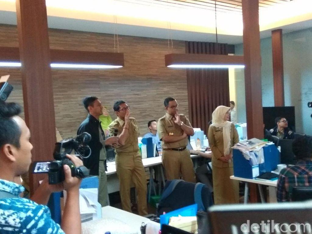Lihat Jakarta Smart City, Sandi: Saya Senang