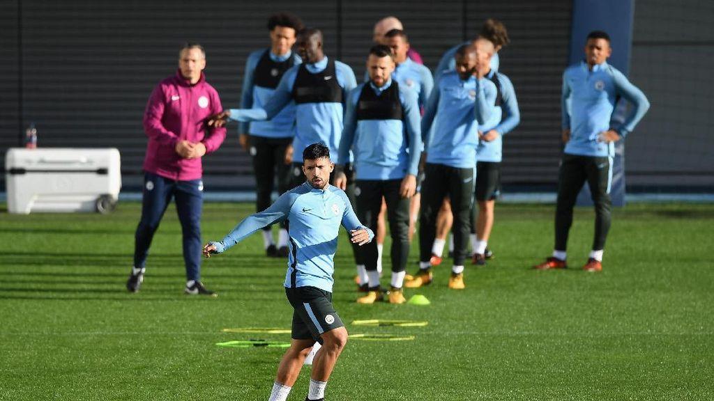 Guardiola: Kondisi Aguero Semakin Oke