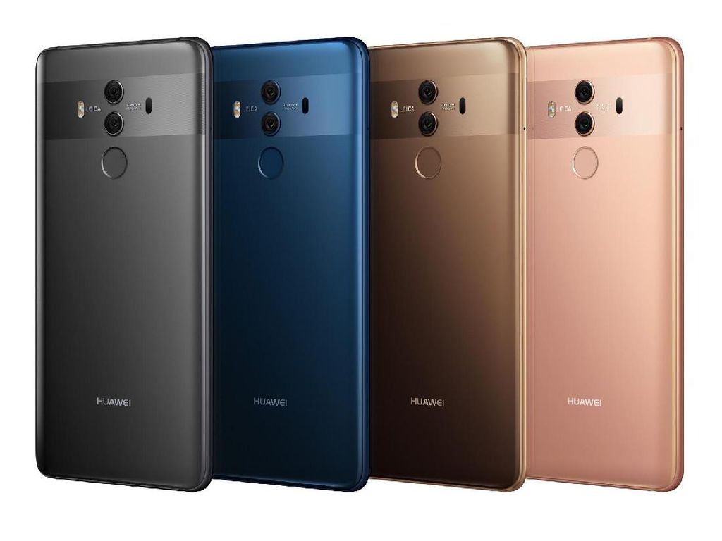 Huawei Mate 10 Pro Siap Tantang iPhone X dan Note 8