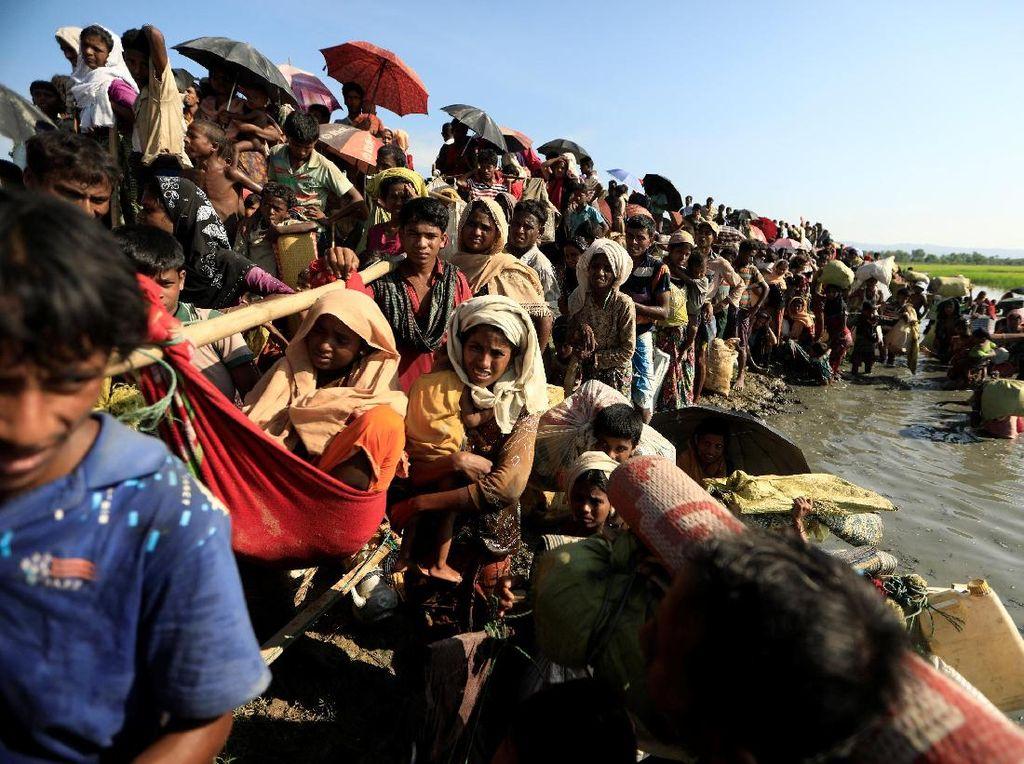 Utusan PBB: Myanmar Tak Mau Selidiki Kekerasan pada Rohingya