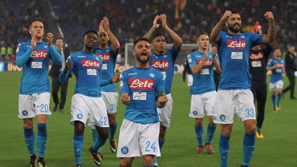 Kesempatan Napoli Cicipi Kemenangan di Tanah Inggris
