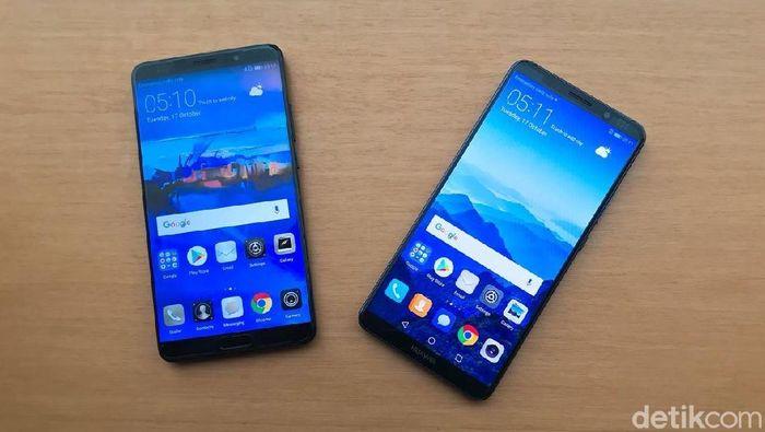 Huawei Mate dan Mate 10 Pro. Foto: detikINET/Adi Fida Rahman