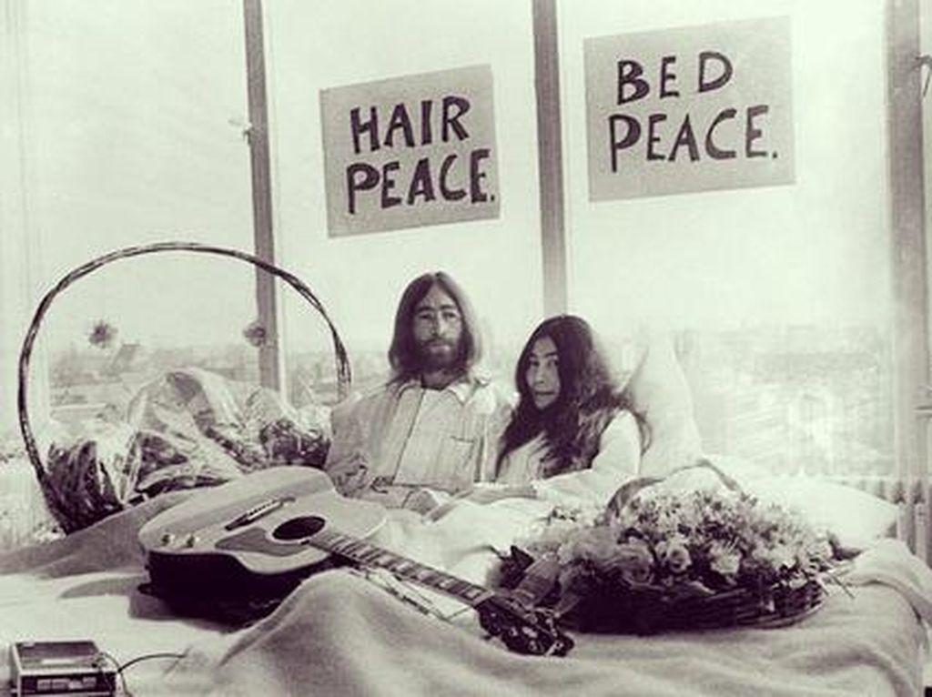 Foto: Saksi Bisu John Lennon dan Yoko Ono di Hotel Mewah