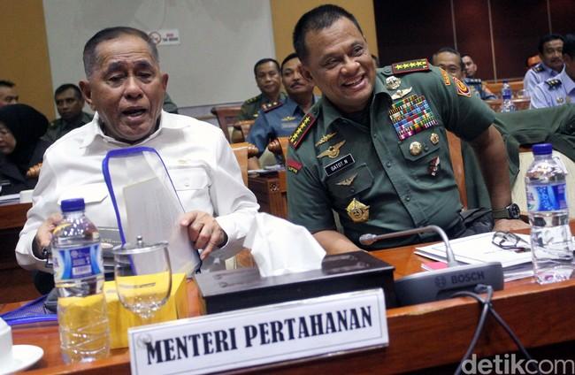 3 Tahun Pemerintahan Jokowi-JK, Menhan: Semua Baik dan Nurut Kita