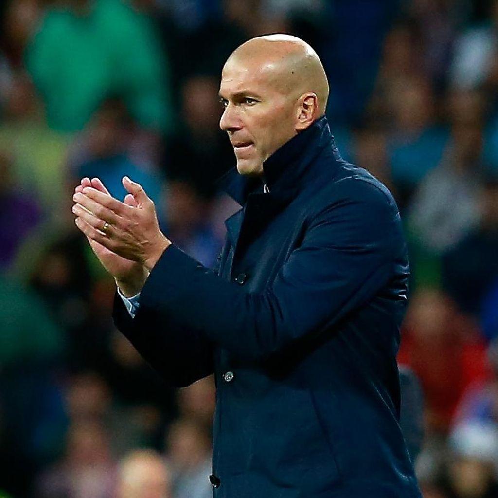 Catatan Tandang Oke Zidane sebagai Pelatih Madrid