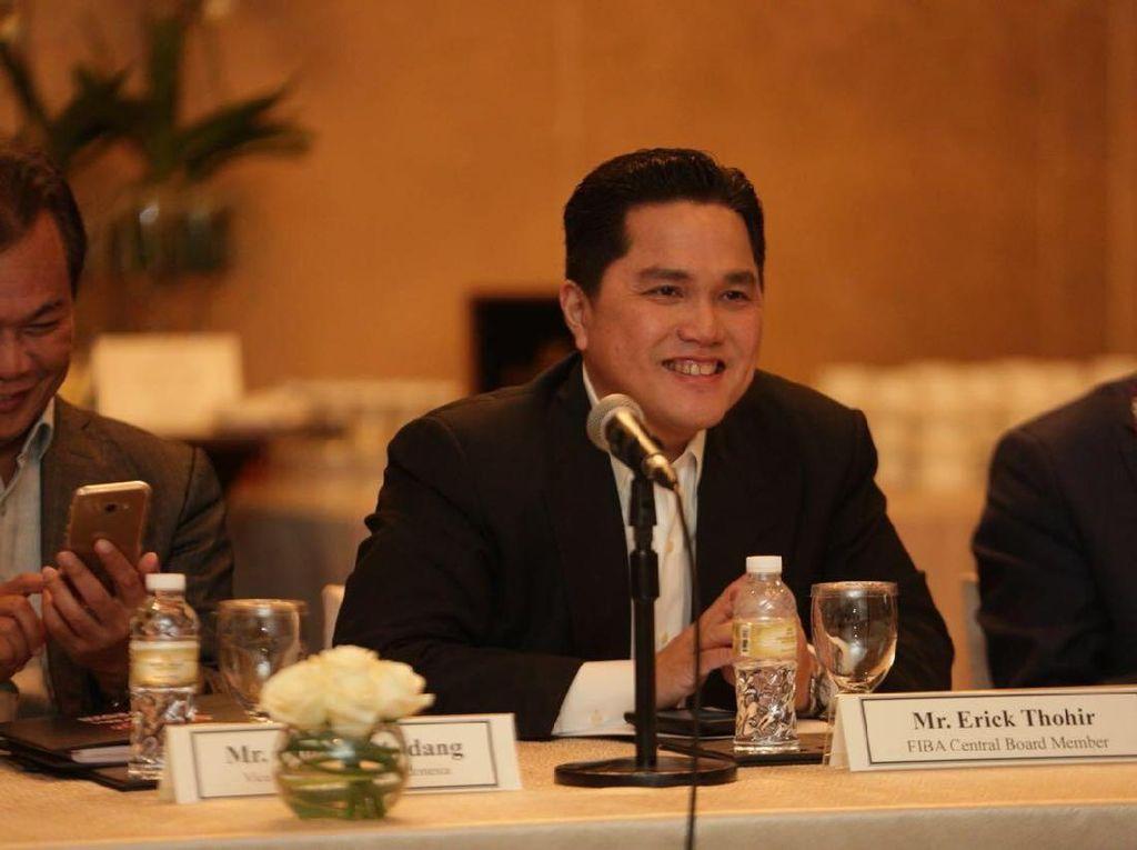 Erick Thohir Copot Direktur Keuangan Garuda