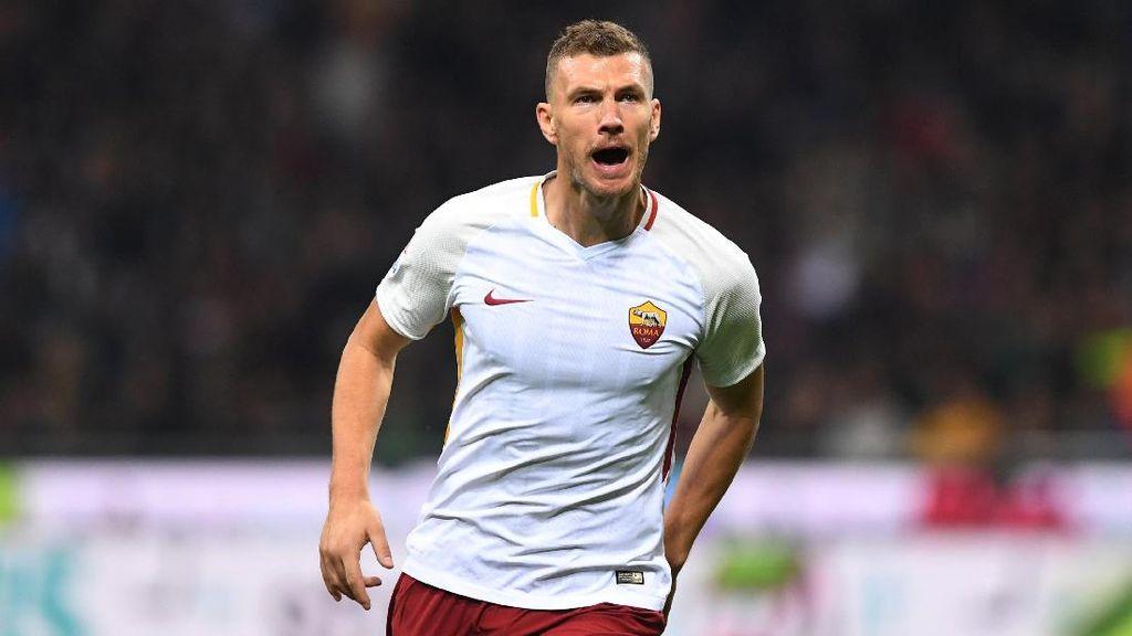 Jika Dzeko Pergi, Roma Siap Beli Striker Baru
