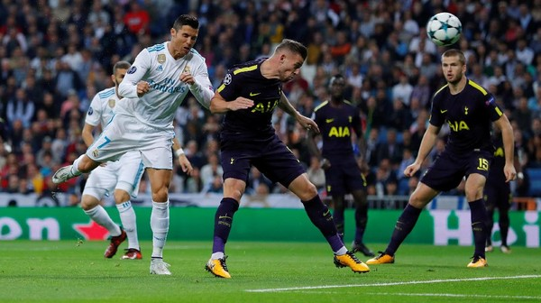 Laga Lawan Madrid Jadi Standar Permainan Spurs Hadapi Liverpool