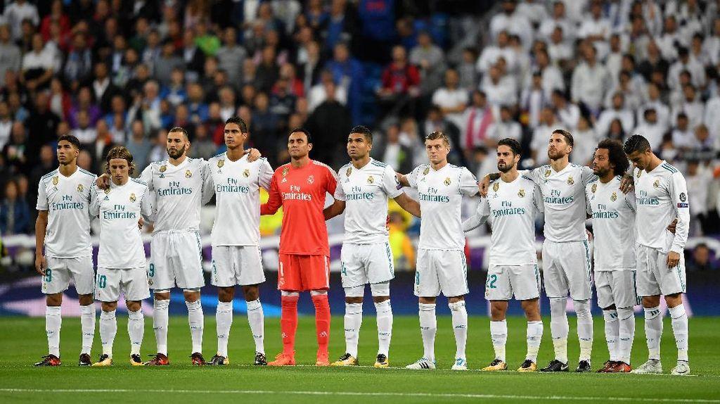 Usai Ditahan Spurs, Madrid Bertekad Menang di Wembley