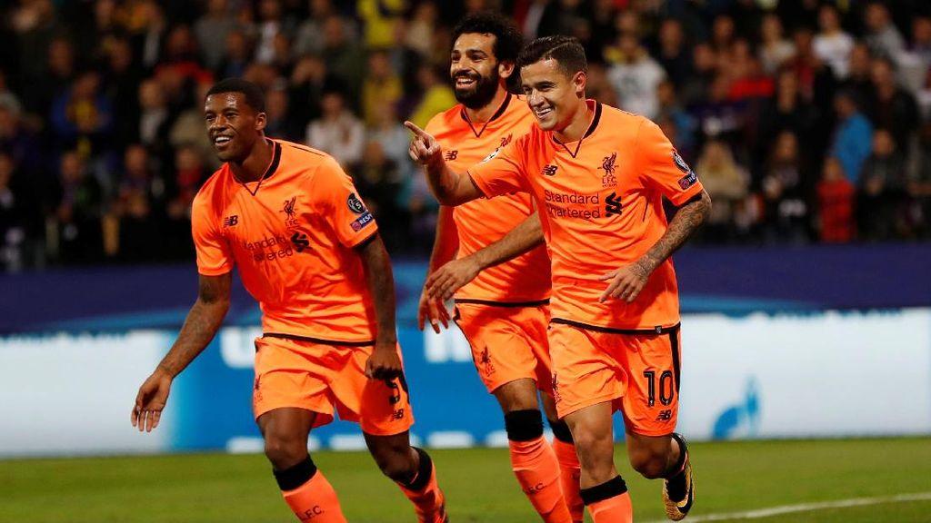 Turun Minum, Liverpool Unggul Telak 4-0 atas Maribor