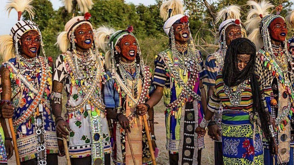 Foto: Festival Mencuri Istri di Afrika