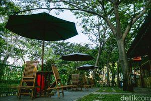 Menikmati Asrinya Taman Potret Tangerang