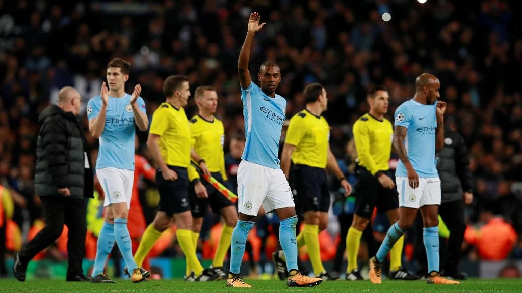Start Terbaik City di Liga Champions