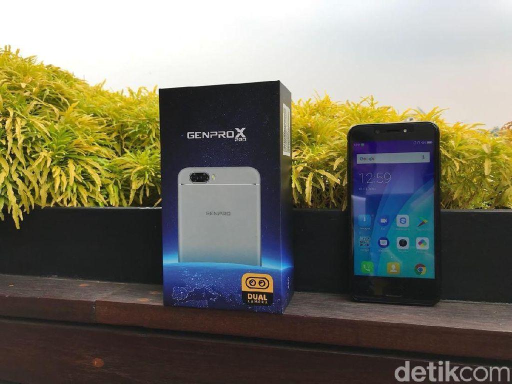 Genpro X Pro, Ponsel Dua Kamera Harga Sejutaan