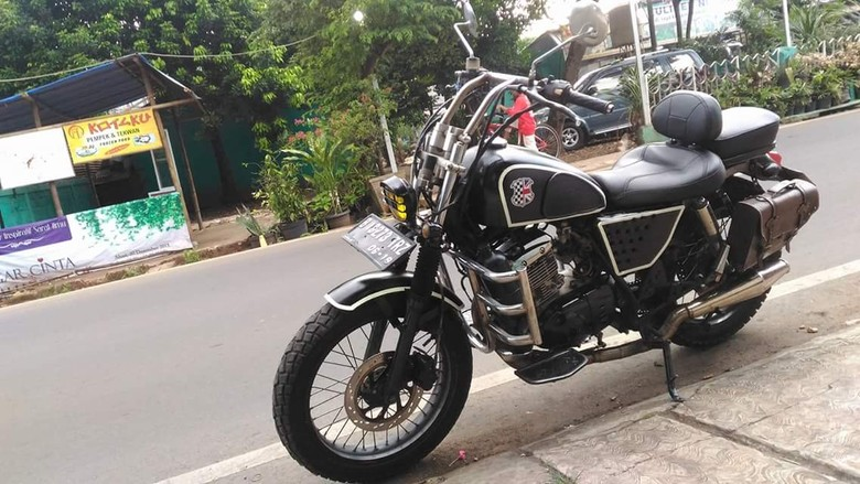 Modifikasi Thunder 125 HD (Hampir Davidson)