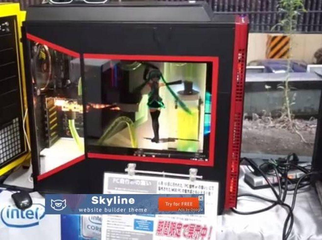 Keren! Hatsune Miku Menari di Dalam PC Ini