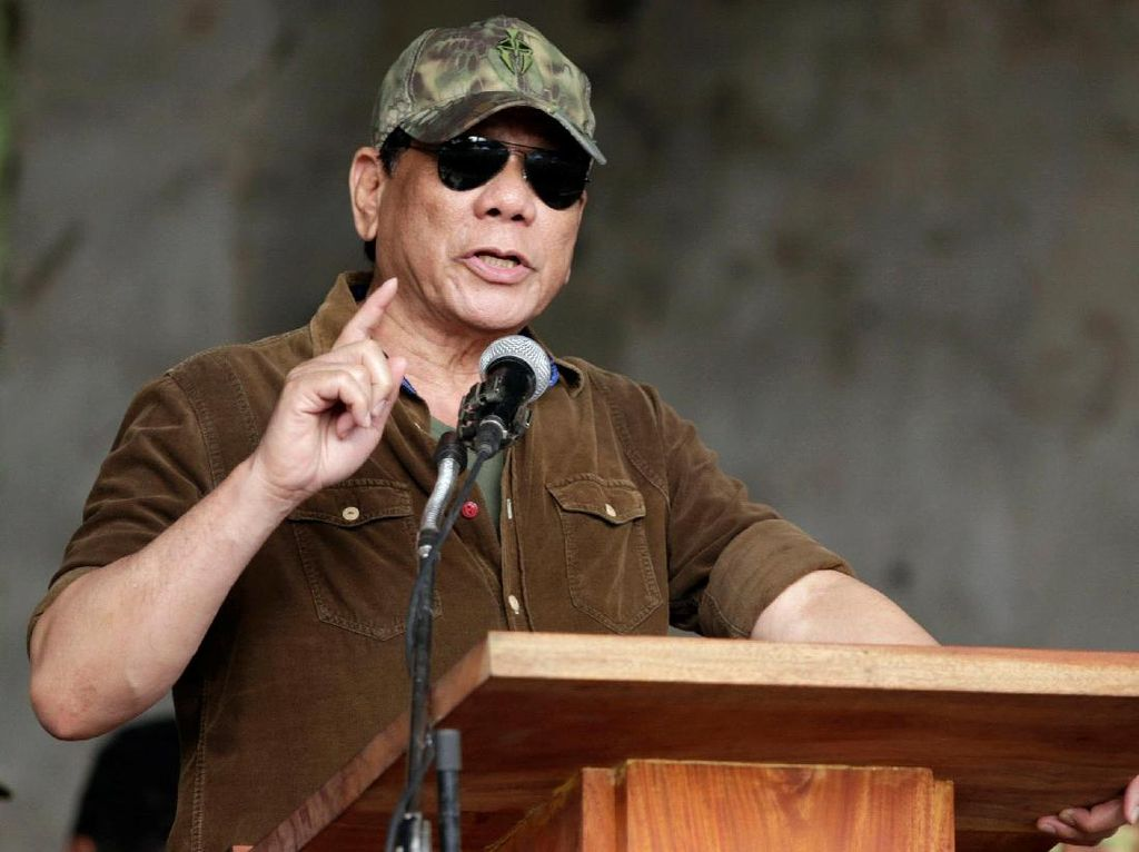 Soal Filipina Jadi Maharlika, Duterte Cuma Lontarkan Gagasan