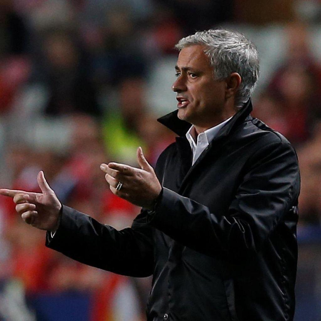 Mourinho: Bertahan Bukan Kriminal